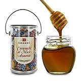Brezzo Surtido de Caramelos de Miel: Eucalipto, Acacia, Azahar y Tilo - 200 Gramos
