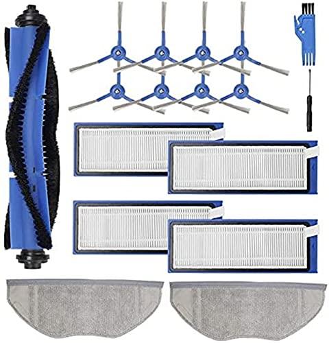 Lifeyz Piezas de aspiradora Accesorios para aspiradoras Kit de Piezas de Repuesto para aspiradora Robot híbrida Eufy RoboVac L70 (Color: Azul Gris) Exquisito (Color : Blue Gray)