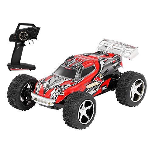 GoolRC Wltoys Voiture RC 20 Km/h 2,4G 1/43 Mini Voiture RC Gros Pied Haute Vitesse Camion RC Jouets Cadeaux pour Enfants Garçons