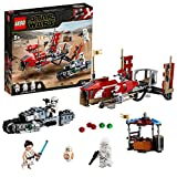 LEGO-Star Wars La course poursuite en speeder sur Pasaana Jouet Enfant à Partir de 8 ans, 373 Pièces à Construire 75250