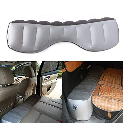 blue--net Car Mattress Inflatable Back Seat Gap Pad Air Bed Cushion Car Inflatable Mattress Travel Camping Air Bed Universal for Travel Camping