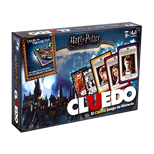 Winning Moves Cluedo Harry Potter 40X26-+9 Años, multicolor, Sin tañosllaños (ELEVEN FORCE...