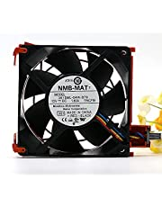 NMB-MAT 3615ML-04W-B76 C9857 JC915 dla wentylatora chłodzącego Dell Server PE1900 2900