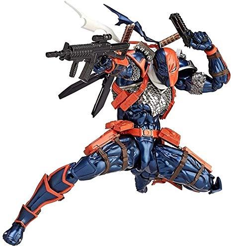 Film Charakter Modell Spielzeug Deathstroke Revoltech Action Figure - Austauschbare Zubehör - Hohe 6,69 Inches