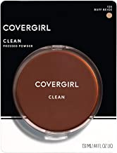 COVERGIRL Clean Pressed Powder Foundation Buff Beige 125, 0.44 Fl Oz (1 Count) (packaging may vary)