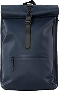 Rains Rolltop Backpack 49Cm Blue
