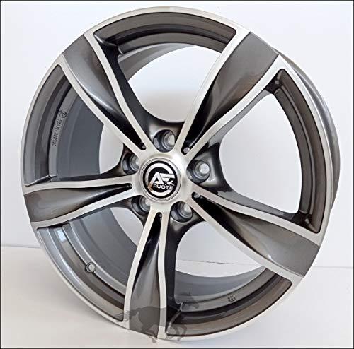 1 MM033 Llantas de Aleación Ece 8 18 5X120 30 72,6 Compatible Con BMW Serie 3 4 5 6 X1 X3 X4 Antracita Pulido Diamante