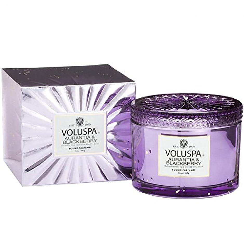 幻滅収束するしたがってVoluspa ボルスパ ヴァーメイル ボックス入り グラスキャンドル オーランティア&フ?ラックヘ?リー AURANTIA&BLACKBERRY VERMEIL BOX Glass Candle
