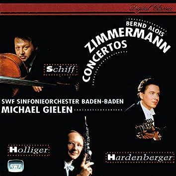 Zimmermann: Cello, Oboe and Trumpet Concertos; Canto di speranza