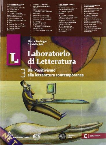 Il laboratorio di letteratura. Con Guida all'esame. Per le Scuole superiori. Con espansione online (Vol. 3)