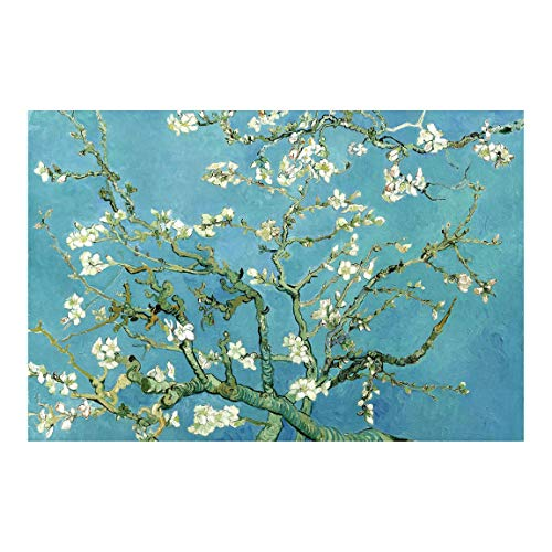 Vliestapete Vincent van Gogh - Mandelblüte Premium Fototapete 255cm x 384cm