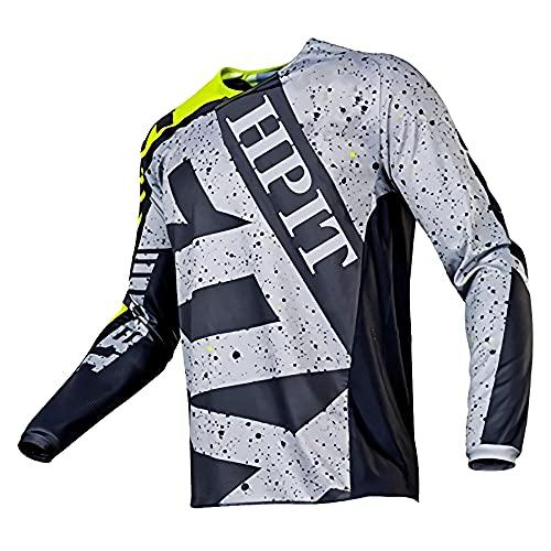 Mtv Shirt Large, mtv Shirt Longsleeve, deity Shirt Mtb, Jersey Men's Downhill Motocross Jersey Mtb Mx Mountain Biking Shirt Racing Herren Fu? Balltrainingshemden-Sport & Freizeit, Men's Motor, XXL