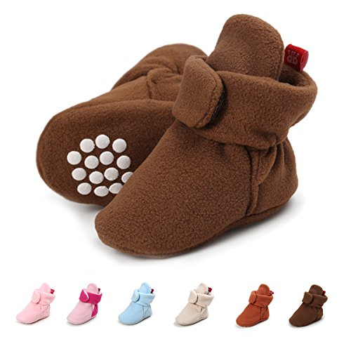 SOFMUO Baby Warm Fleece Booties