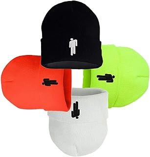 dda64a3c Tulip Red Billie Eilish Unisex Hat Merchandise Cap Lovers Beanies Stickman  Men Women Knitted Hat