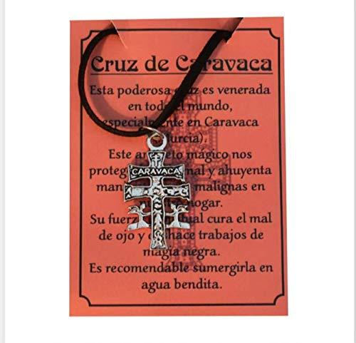 Cruz de Caravaca en plata de primera ley 925m -