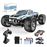 4x4 1:10 Large Scale High Speed RC Car: This 1:10 Scale big size 4 wheel drive high speed remote control racing car is equipped with high quality and durable components to bring you a great racing experience (Size: 14.2 x 11.8 x 5.9 in). The speed is...