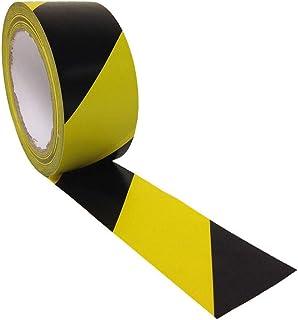 Vaultex-Warning Tape Yellow & Black Combination, 70mm X 250Mtr