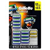 Gillette Fusion5 Proglide Cartridges, 14 Count