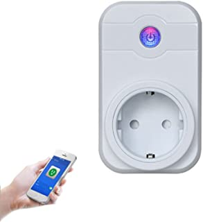 Smart Plug Wireless Smart Timing Socket- Control Your Device From Anywhere Compatible with Alexa Google Home