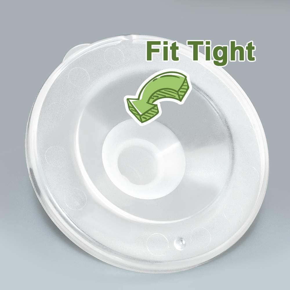 Potty-Training284 Semi transparent Maymom Inserts de bride 17 mm pour Freemie 25 mm Collection Cup 2 pi/èces