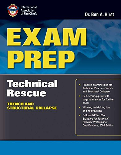 Exam Prep: Technical Rescue–Trench and Structural Collapse (Exam Prep (Jones & Bartlett Publishers