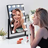 ⚡Fast Wireless Charger Hollywood Make Up Mirror - This Smart Lighting Makeup Mirror supports wireless fast charging of Huawei(Mate30 and above series, p30pro, p40pro/pro max), iPhone8 and above series (iPhone 8Plus, iPhone X/XR/XS Max, iPhone11/11Pro...
