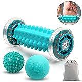 GLKEBY Rodillo de Masaje,contiene rodillos de masaje y bolas de masaje,Puede aliviar el dolor...