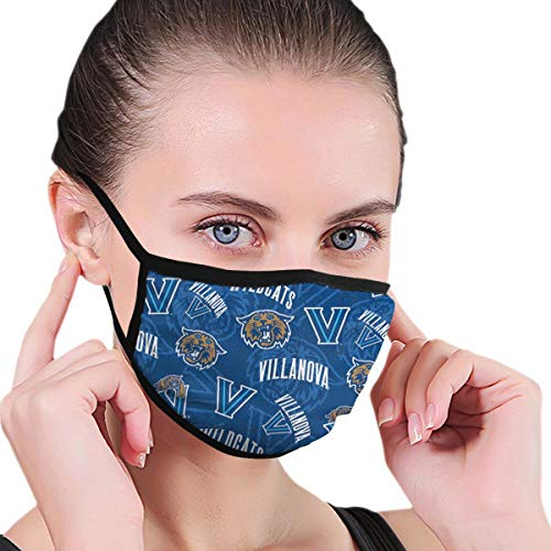 Villanova Unisex Reusable Face Nose Mouth Cover with Adjustable Earloops Protective Mask for Outdoor