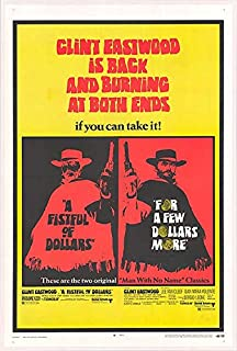 Fistful of Dollars and Few Dollars more - Authentic Original 28.75