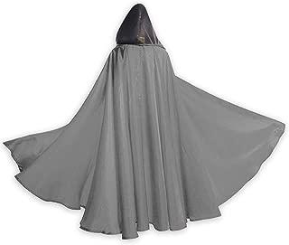 London Paris New York Wall Art Men Tunic Hooded Robe Cloak Knight Fancy Cool Cosplay Costume