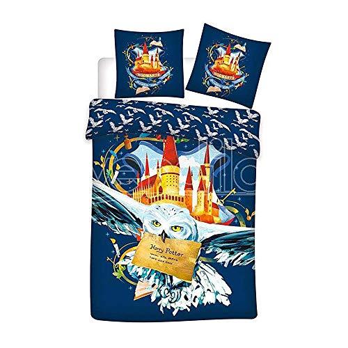 Funda nordica Hedwig Harry Potter cama 90cm