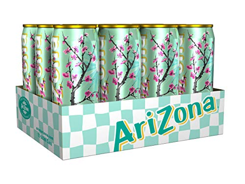 AriZona Green Tea With Honey Dosen, (12x0.5l), 6 l