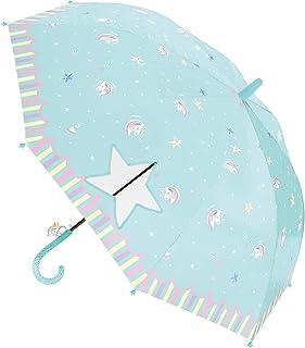 シェイルシェイル 長傘 ゆめかわユニコーン ミント 560-010MI 55cm