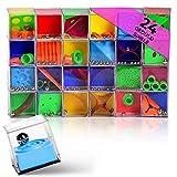 24x Geduldspiele für Kinder im Set Hochwertige Geduldsspiele für Kinder & Erwachsene Kugelspiel Geschicklichkeitsspiele ideal zum Training der Geschicklichkeit & als Mitgebsel für Kindergeburtstag…