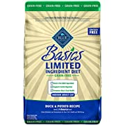 Blue Buffalo Basics Limited Ingredient Diet Grain Free, Natural Indoor Adult Dry Cat Food, Duck & Potato 11-lb (596438)
