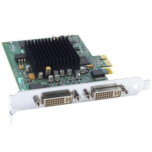 Matrox G550 Passiv Grafikkarte (PCI-e, 32MB DDR2 Speicher, Dual DVI & VGA, 1 GPU)