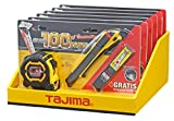Tajima Set G3M750 Cinta métrica, Cuchillo y Hoja en Juego, g3m750, Quick Back dfc569, lcb50rbc, 1Pieza, Taj de 76168, 0 W, 0 V