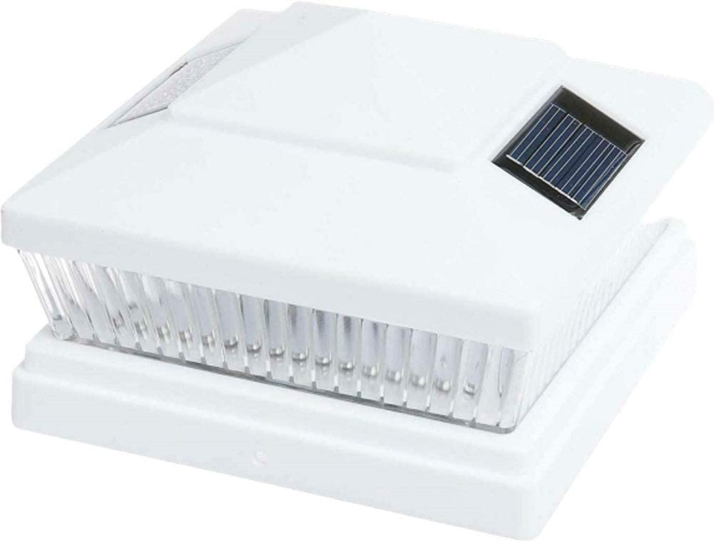 Solar White Square ショップ Outdoor 4X4
