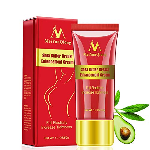 Bust Firming Cream- MeeShirer 50g Natural Breast Beauty Cream Breast Enlargement Enhancement Supplement Massage Cream Essential Oil for Enlarging and Lifting Bust to Help Bust Size Up