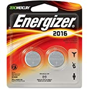 3V Lithium Button Cell Battery Retail Pack - 2-Pack (2016BP-2) -