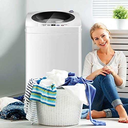 Giantex Portable Compact Full-Automatic Laundry