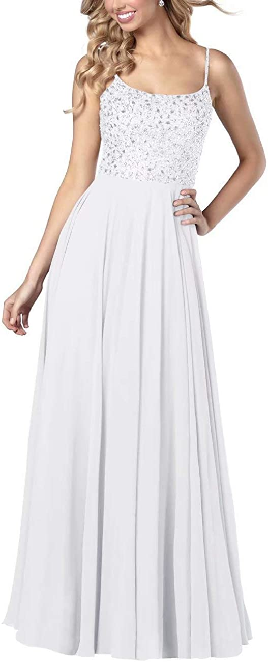 Beaded Prom Dresses Long A Back Line Women's Challenge the lowest Max 63% OFF price Low Evening
