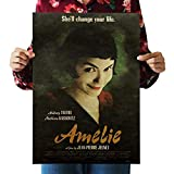 PQGHJ Puzzles Amelie Classic Movie Rompecabezas de Madera 1000 Piezas, Arte Impreso en HD, Arte de Gran tamaño, Rompecabezas de Juguete para Regalo Educativo, decoración del hogar