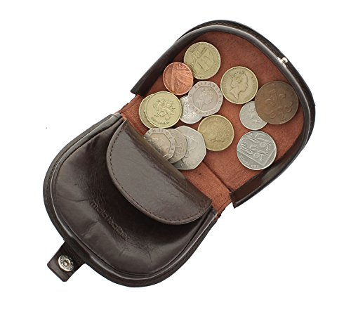 Mala Leather Odyssey Collection Leather Tray Coin Purse 411414m Brown
