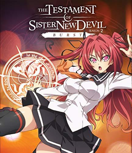 The Testament of Sister New Devil Burst: Season Two + OVA [Blu-ray]