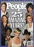 Princess Diana l Oprah Winfrey l Julia Roberts l John Travolta l Bill Cosby l Jodie Foster l Harrison Ford - People 25 Amazing Years! 1999 Collector s Edition