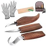 strumenti per intaglio del legno Coltello da Intaglio in Legno con Intaglio Strumenti Set ...