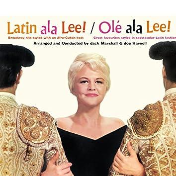 """Peggy Lee: """"Latin Ala Lee!"""" And """"Olé Ala Lee!"""""""