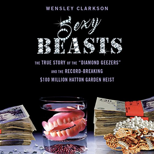 Sexy Beasts audiobook cover art