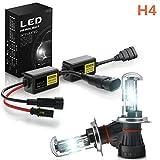 JCMYSH DIRIGIÓ Bombillas de Faros 2pcs Car Footars Footlights, lámpara de Niebla Super Mini Xenon Light Bulbs Set para Faros de Coche (Color : H4/HB2)